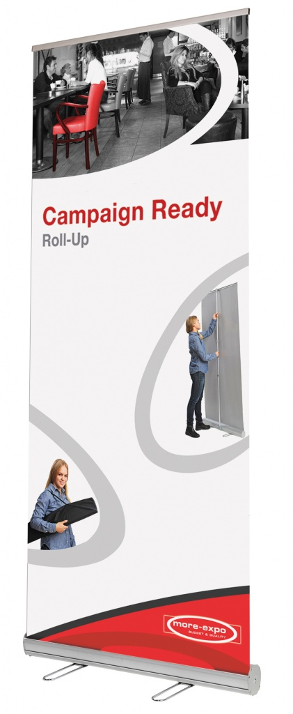 Roll-Up стенд Campaign Ready